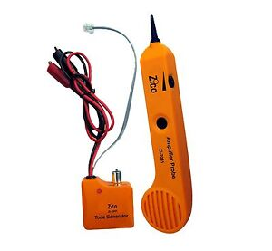 Zico Zi 2081 Network Rj11 Tracer Cable Wire Line Tracker Tester Tone Generator