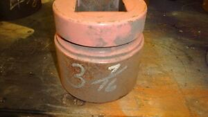 Williams 3 7 16 6 point 2 1 2 Drive Sae Impact Socket Used Free Shipping