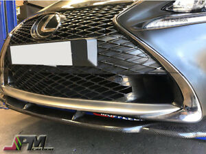 For 15 17 Lexus Rc200t Rc350 With F sport Only Ag Style Carbon Fiber Front Lip