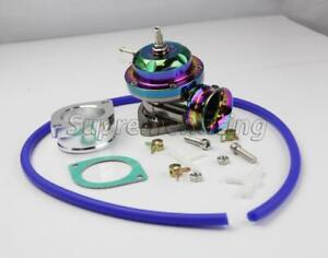 Type Rs Neo Chrome Turbo Charger Bov Blow Off Valve Gasket Adapter Hose