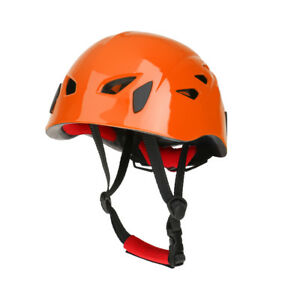 Safety Helmet Outdoor Rock Climbing Downhill Kayak Rappel Rescue Escape Gear