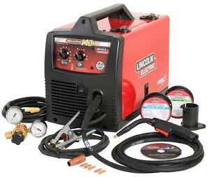 Wire feed Welder Weld Pak 140 Hd 120 Volt Input Power Tool Less Lincoln Electric