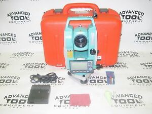 Sokkia Set630r Red Tech Ii Reflectorless Total Station Transit With Case
