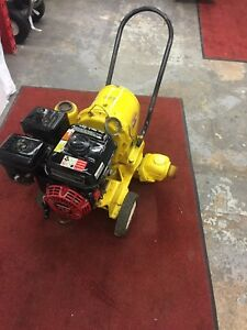 Used Wacker Neuson Pdt2a 2 Diaphragm Commercial Grade Trash Pump Honda Engine