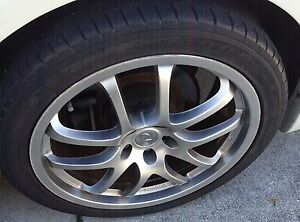 Infiniti G35 Rays 19in Wheels Staggered Set 500 00 Will Ship At Buyers Cost