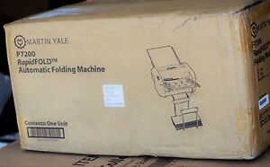 Martin Yale P7200 Rapid Fold Automatic Desktop Folder Automatic New In Box