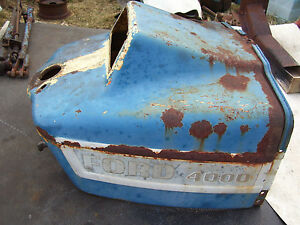 Vintage Ford 3000 Tractor dash Housing Assembly 1966