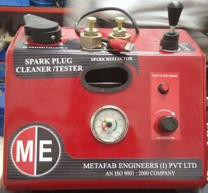 Spark Plug Cleaner And Tester For Automobile Service