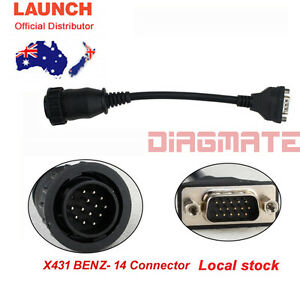 Original Launch X431 Benz 14 For Pro3 Pro Scanpad Pad2 Pad Idiag Master Au Stock