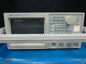 Sony Tektronix Model Dg2020a Data Generator 200 Mbps With Opt 02