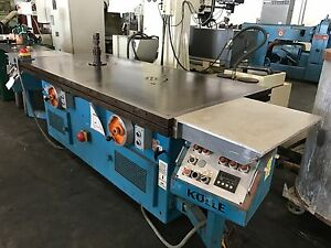 Expensive Kolle Double Rolle Twin Spindle Wood Aluminum Shaper With Vari Speed