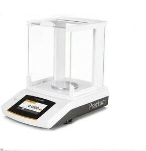 Sartorius Practum124 1s Analytical Lab Balance 120 G X 0 1 Mg touch Screen new