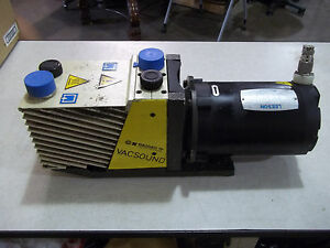 Galileo Rotary Vane Vacuum Pump D12 3 4hp Tp Vacsound