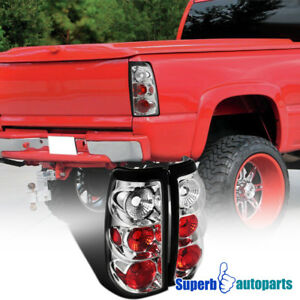 For 2003 2006 Chevy Silverado 1500 2500 Tail Lamps Brake Lights