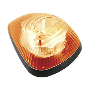 Buyers Products 8892000 Amber Surface Mount Strobe marker Lights With 9 Led
