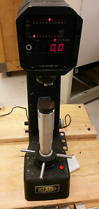 Clark Instruments Inc Mdt 12 Digital Twin Hardness Tester Working Mdt12