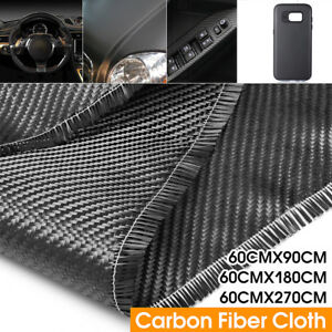 23 6 Wide 3k Carbon Fiber Cloth 2x2 Twill 200gsm Fabric Plain Weave 60x270cm