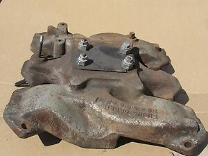 Studebaker V8 Intake Manifold For A 2 Barrel Carb