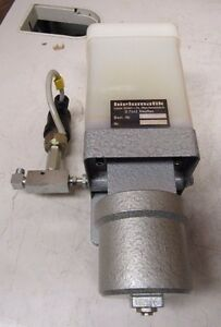 Bielomatik 31 10 90 Pneumatic Single Piston Lubrication Lube Oil Pump