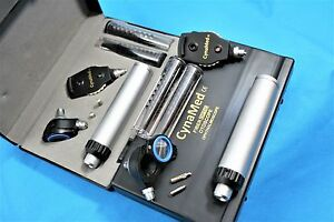 New Incredible Prophysician Ophthalmoscope Otoscope Diagnostic Set W Hard Case