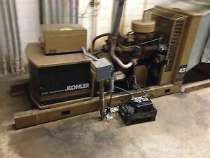 Kohler 30 Kw 3phase Nat Gas Or Lp Generator