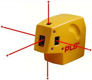 Pacific Laser Systems Pls 5 Five Point Self Leveling Laser W Detector 60542