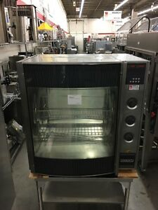 Hobart Hr7 Countertop Electric Chicken Rotisserie Oven Holds 35 Refurb