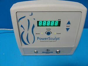 Medtronic Xomed 25 25100 Powersculpt Console powered Cosmetic Surgery 13043