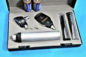 Ent Opthalmoscope Otoscope Fiber Optic Medical Diagnostic Set nt 526