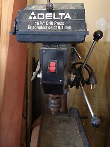 Delta 16 1 2 Drill Press With 3 4 H Motor Model 17 900