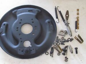 1956 1959 Studebaker Truck 3 4 Ton Left Front Axle Backing Plate And Parts left