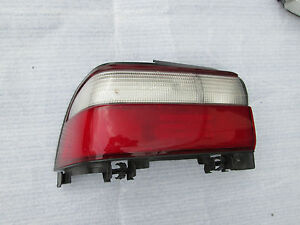 Toyota Corolla Taillight Rear Tail Stop Lamp Oem 1996 1997 Left Quarter
