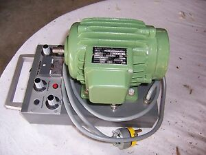 Ac Servo Motor And Drive 1 3 Hp With Built In Brakes For Indexing