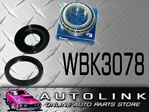 Rear Wheel Bearing Kit Wbk3078 Suit Nissan Patrol G60 With H260 Heavy Duty Diff