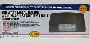 Designers Edge L 1904 100w mh 100 Watt Metal Halide Wall Wash Security Light