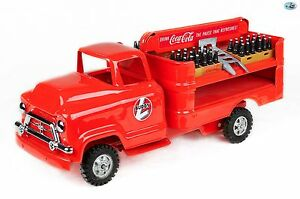 Awesome 1957 Vintage Custom Restored Buddy L Coca-Cola Truck