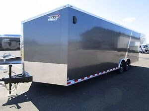 2019 Bravo 8 5x24 Ft Scout Enclosed Car Hauler W 5200 Lb Axles