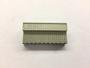 3 Piece Lot 5352152 1 Tyco Conn Recept 120pos 2mm Press fit Rohs