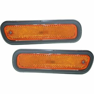 New Set Of 2 Side Marker Front Left Right Lh Rh For Honda Prelude 2001 Pair