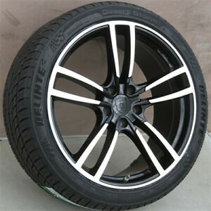 New 4 22x10 0 5x130 Et 55 Wheels Tires Pkg Fit Porsche Cayenne Q7 Touareg Vw