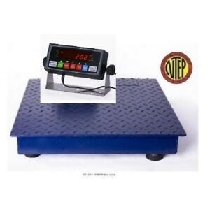 Heavy Duty 2 X 2 Floor Scale 1000 X 0 2 Lb digital Indicator brand New