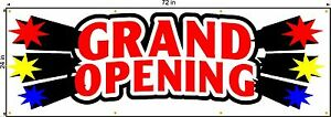 Grand Opening Banner 2ft X 6ft