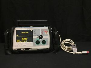 Zoll M Series Biphasic 200 Joules Max Ecg Monitor W Cable Printer