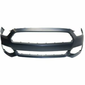 Front Bumper Primed Ptm For 2015 2017 Ford Mustang Exc Shelby Model