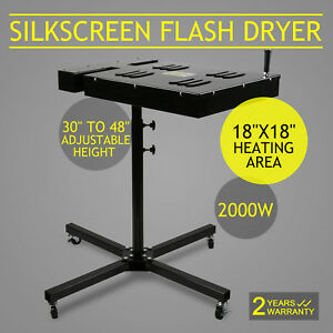 18x18 Flash Dryer Silkscreen T shirt Screen Printing Curing
