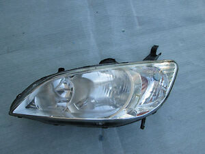 Honda Civic Headlight Front Head Lamp 2004 2005 Oem Original Driver