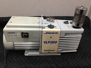 Edwards Savant Vlp200 Dual Stage Rotary Vane Vacuum Pump