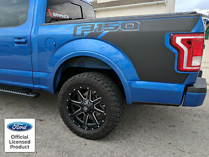 New 2015 2016 Ford F 150 Bed Graphics W Logo Side Decal Vinyl Stripes Stickers