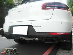 Jpm Style Unpainted Rear Bumper Splitter Lip For 2015 2016 Porsche Macan