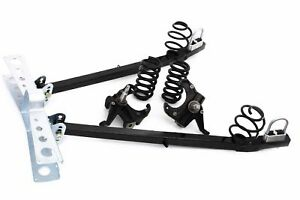 63 72 Chevy Truck Ultimate Lowering Kit W Drop Spindles Trailing Arms Springs
